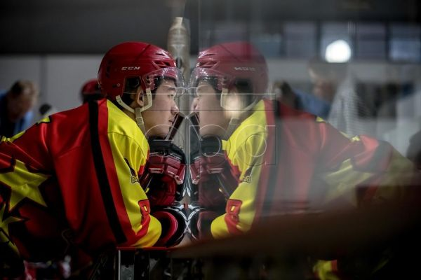 (02/41) Lei Yao of China Golden Dragons looks on during the 2. Liga ice hockey match between China Golden Dragons and HC Tabor in Slany, Czech Republic, 11 September 2019. A selection of Chinese ice hockey players have been sent to the Czech Republic in a bid to hone their skills and improve their team performances, as China prepares to host the Winter Olympics in Beijing in 2022. Coming from a country with little to no hockey culture, the promising youngsters have traveled to the other side of the world as